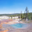 Stock Photo: Firehole Hot Spring