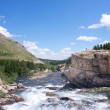 Rocky Mountain River — Stock Photo
