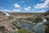 Ruby River Dam — 图库照片