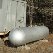 Stock Photo: Old Propane Tank