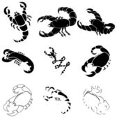 Scorpions — Stock Vector