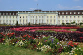 Luwigsburger baroque palace with garden — Stock Photo