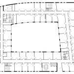 Floor plan of a major building. — Stock Vector #26209417