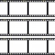 "Three film strips  -  ""Photo Art"" — Stock Vector"
