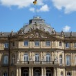 New Castle in Stuttgart - Neues Schloss Stuttgart — Stock Photo