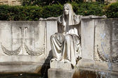 Fate Fountain Stuttgart - Schicksal Brunnen Stuttgart — Stock Photo