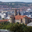 Stuttgart - City View - Old Castle --Stuttgart Panorama Altes Schloss — Stock Photo #26417885