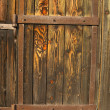 Old doors faded by sun — Stock Photo