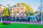 Edificio americano del Consolato amsterdam — Foto Stock