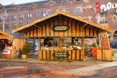 Christmas Market in Amsterdam City Center — ストック写真