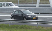 Seat Ibiza ST driving on the highway — Stock Photo