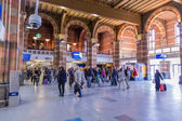 Amsterdam Central Station mainentrance — Stock Photo