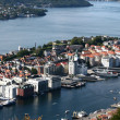Town in Norway — Stock Photo