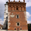 Old town hall in Sandomierz, Poland. - Stock Photo