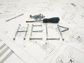 Help Instructions — Stock Photo