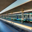Outer railway station of Florence, canopies — Stock Photo #19757873