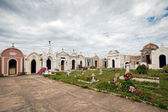 White chapels in a cemetery — Stock Photo