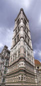 Giotto bell tower in Florence from below — Stock Photo