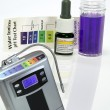 Alkaline water generator test ph reagent — Stock Photo #26883297