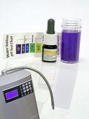 アルカリ水イオナイザー テスト試薬 — ストック写真