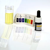 Acid acidic water test ph reagent — Stock Photo
