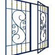 ������, ������: Wrought iron window grille