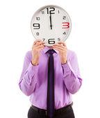 Clock head — Стоковое фото