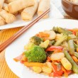 Asian Stir Fry — Stock Photo