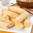 Shrimp Spring Rolls — Stock Photo