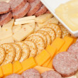 Meat and Cheese Platter — Stock Photo #19710967
