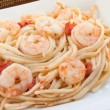 Shrimp Scampi — Stock Photo