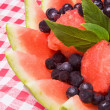 Постер, плакат: Watermelon Fruit Salad