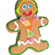 Gingerbread woman  — Stock Photo