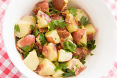 Healthful potato salad — Stock Photo