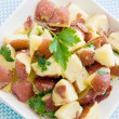 Healthful potato salad - Stock Photo