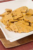 Peanut Brittle — Stock Photo