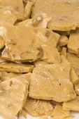 Peanut brittle — Stock Photo