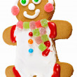 Gingerbread man  — Foto Stock