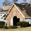 Tornado damaged house — Stock Photo #24069803