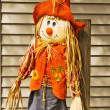 Adorable scarecrow — Stock Photo