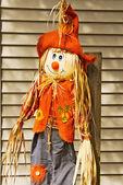 Adorable scarecrow — Stock Photo