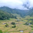 Philippines, rice terraces in the valley Hapao, Banaue — Stock Photo