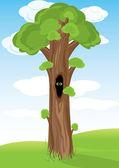 Beautifull Tree — Stock Vector
