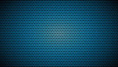 Blue black halftone background — Stock Vector