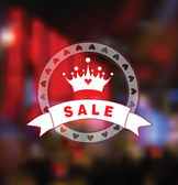 Sale card — Stock Vector