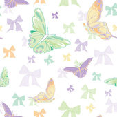 Butterflies print — Vector de stock