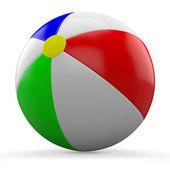 3D beach ball — Stock Photo