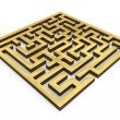3D Maze — Stock Photo #26266639