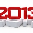 3D new 2013 year background — Stock Photo #26282819