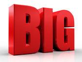 3D big word — Stock Photo